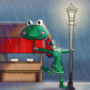 Perfect Weather For Frogs