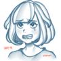 Day 9: Emoji Challenge- Moon / Selene (Pokemon)