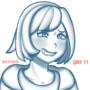 Day 11: Emoji Challenge- Yuri / Gloria (Pokemon)
