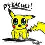 Pikachu Doodle by Digby1996