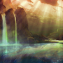 More tranquil waterfalls