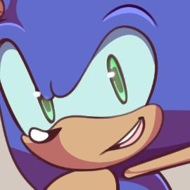 Modern Sonic Desktop Wallpaper Fanart By Timblethimble On Newgrounds