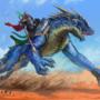 Saszrukai Drakkar knight [commission]