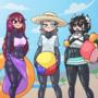 Stream Warmup: Anime Beach Episode