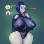Raven (Teen Titans) Boom+Thicc