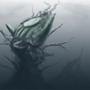 Crashed Ship by BlackShirtDesigner