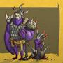 Viking Dad n' Me by jouste