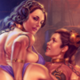 Padme and Leia futa fun