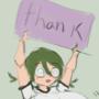 Nerd gives a big THANK