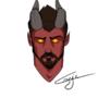 Asmon Decit, my tiefling bloodhunter