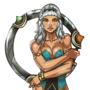 Qiyana Empress of the Elements Swimsuit fan art