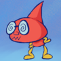 The silly red guy from my header