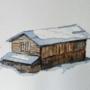 A Watercolour Cabin