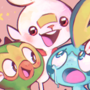 Pokemon Sword and Shield Starters by puppetology